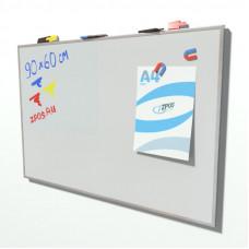 Магнитно-маркерная доска 900х600 мм (без шапки)