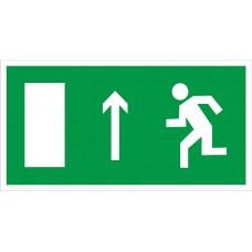 E12 Напрвление к эвакуационному выходу прямо