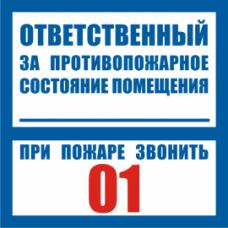 3.1.22 Ответственный за противопожарное состояние