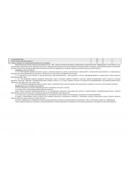 Журнал учета температурных режимов холодильного оборудования в продовольственной кладовой