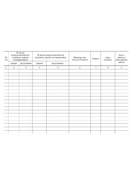 Журнал регистрации листков нетрудоспособности (ф.036/у)