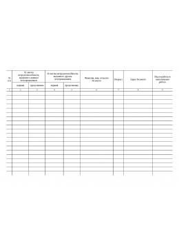 Журнал учета выданных листов нетрудоспособности на санаторно-курортное лечение