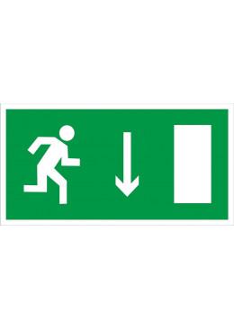 E09 Укзатель двери эвакуационного выхода (правосторонний)