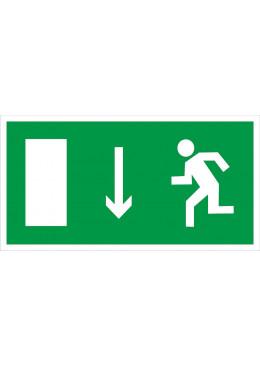 E10 Укзатель двери эвакуационного выхода (левосторонний)