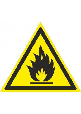 W01 Пожароопасно. Легко воспламеняющиеся вещества