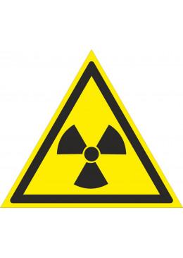 W05 Опасно. Радиоуктивные вещества или ионизирующие излучение