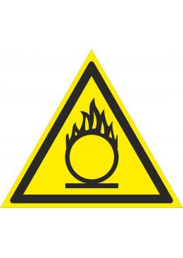 W11 Пожароопасно. Окислитель